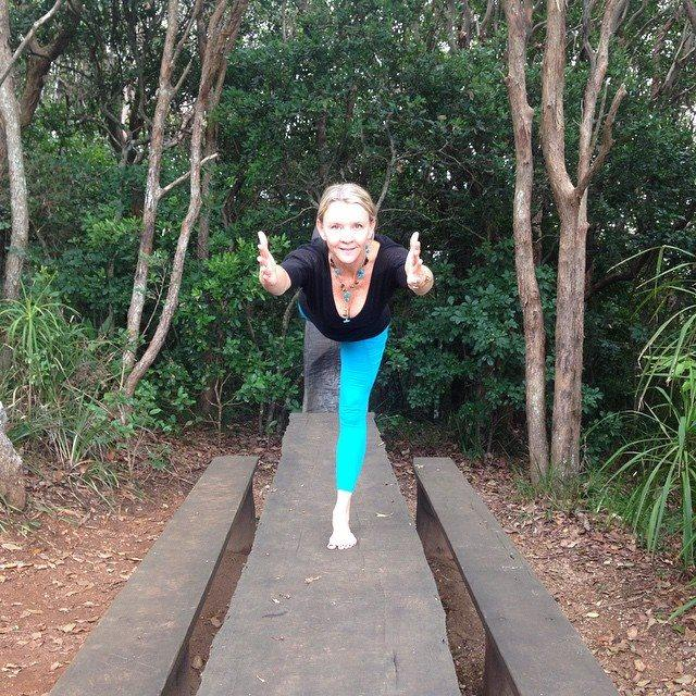 W3 Pose by Martine Ford of Spirit Yoga