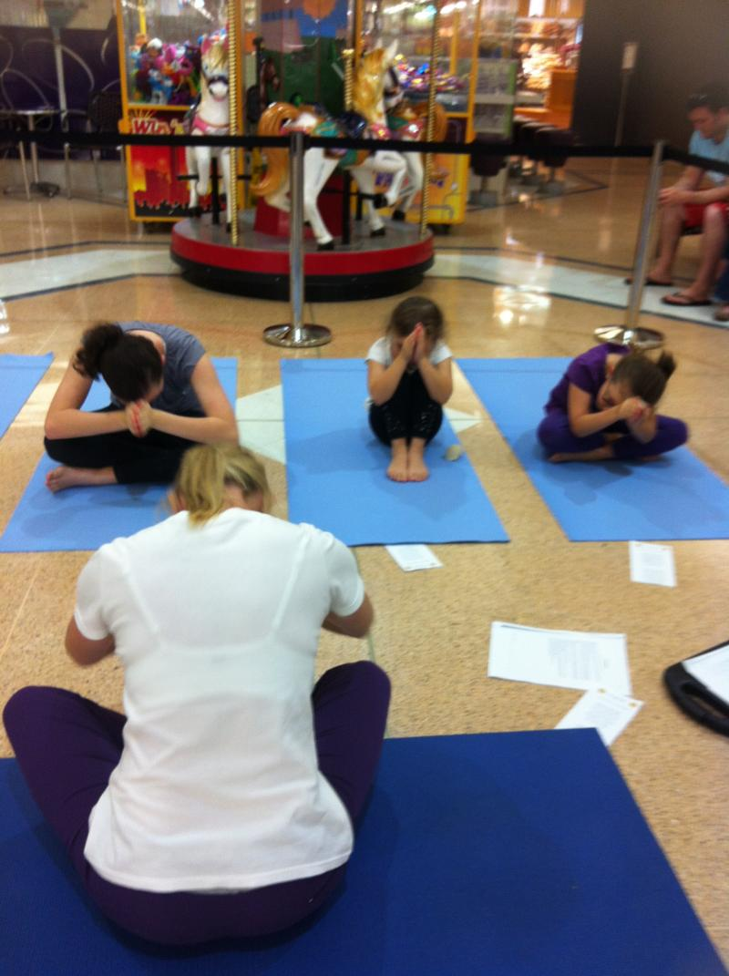 Holiday Kids Yoga at Port Central 2012