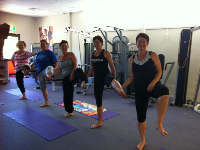 Every Body Personal Training Super Camp - Group Yoga Pose 2013