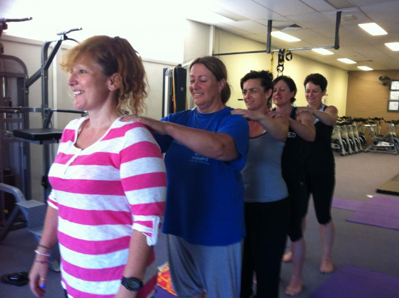 Every Body Personal Training Super Camp 2013 - Group Yoga Massage