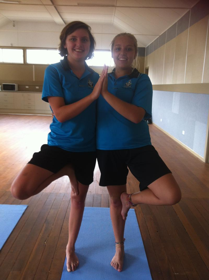 Teen Yoga at The Youth Hub with Spirit Yoga on Valentines Day