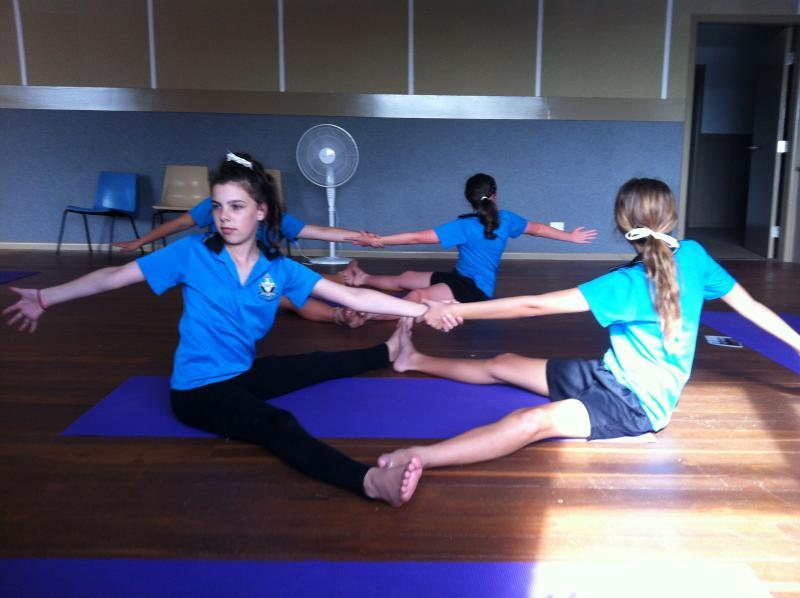 Teen Yoga at The Youth Hub by Spirit Yoga