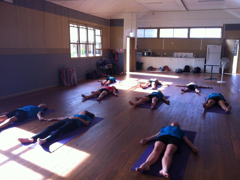 Teen Yoga at The Youth Hub, Svasana by Spirit Yoga