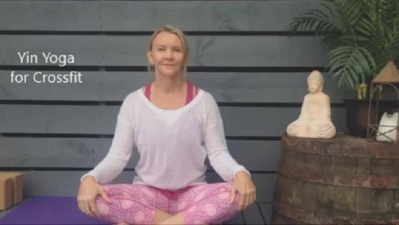 Yin Yoga for Crossfit on Coachtube by Martine Ford of Spirit Yoga