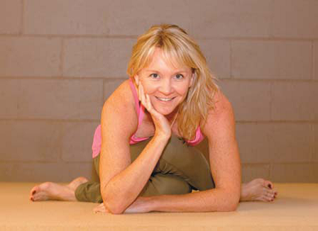 Profile shot of Martine Ford of Spirit Yoga