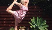 Dancers Pose Variation by Martine Ford of Spirit Yoga