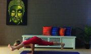 Eka Pada Koundinyasana by Martine Ford of Spirit Yoga