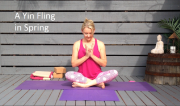 A Yin Fling in Spring - on Coachtube by Martine Ford of Spirit Yoga