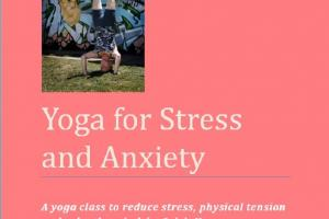 Cover for Yoga for Stress and Anxiety
