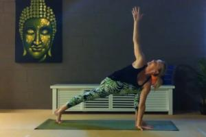 Yoga pose by Martine Ford of Spirit Yoga for Yoga for Weight-loss e-Book